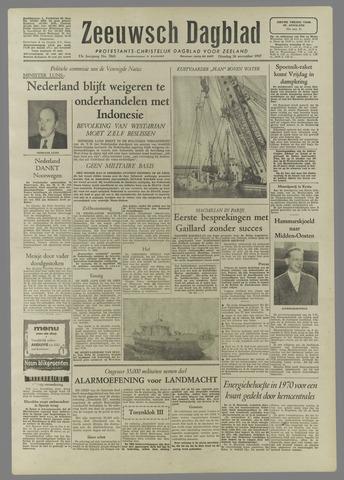 Zeeuwsch Dagblad 1957-11-26