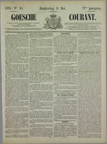 Goessche Courant 1884-05-15