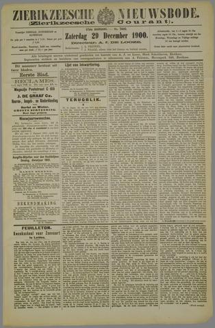 Zierikzeesche Nieuwsbode 1900-12-29