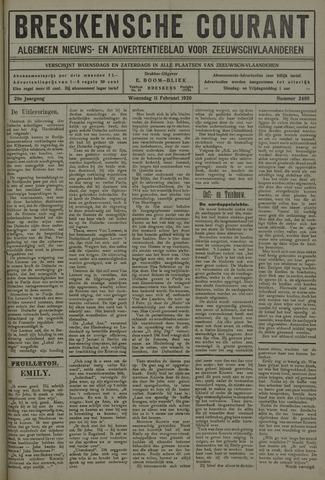 Breskensche Courant 1920-02-11