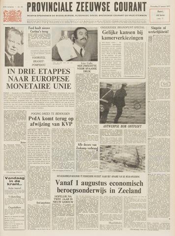 Provinciale Zeeuwse Courant 1971-01-27