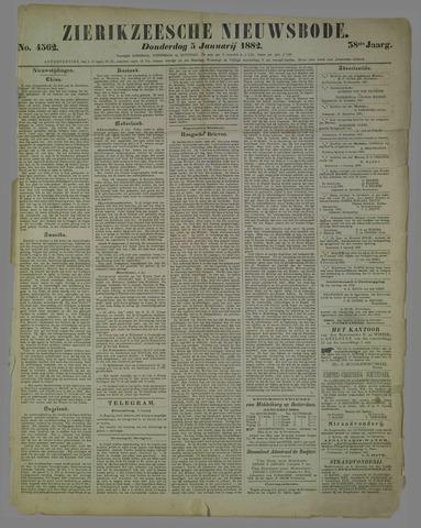 Zierikzeesche Nieuwsbode 1882