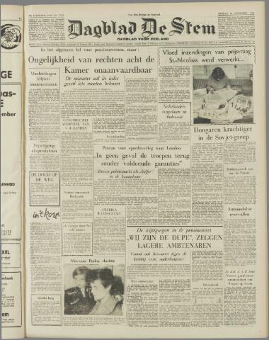 de Stem 1956-11-30