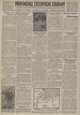 Provinciale Zeeuwse Courant 1942-06-27