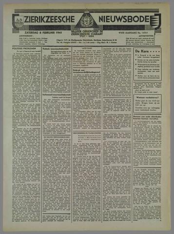 Zierikzeesche Nieuwsbode 1941-02-08