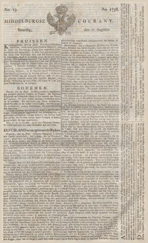 Middelburgsche Courant 1758-08-12
