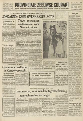 Provinciale Zeeuwse Courant 1962-01-20