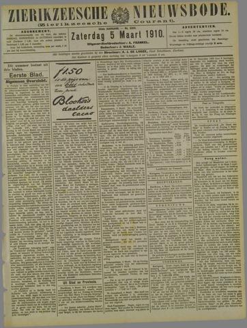 Zierikzeesche Nieuwsbode 1910-03-05