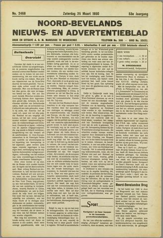 Noord-Bevelands Nieuws- en advertentieblad 1950-03-25