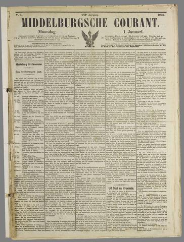 Middelburgsche Courant 1906