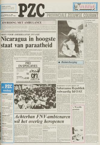 Provinciale Zeeuwse Courant 1984-11-13