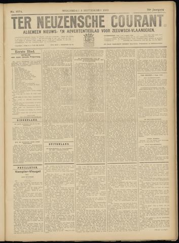 Ter Neuzensche Courant. Algemeen Nieuws- en Advertentieblad voor Zeeuwsch-Vlaanderen / Neuzensche Courant ... (idem) / (Algemeen) nieuws en advertentieblad voor Zeeuwsch-Vlaanderen 1930-09-03