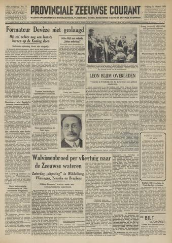 Provinciale Zeeuwse Courant 1950-03-31