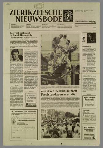 Zierikzeesche Nieuwsbode 1985-08-15