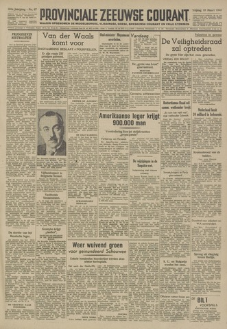 Provinciale Zeeuwse Courant 1948-03-19