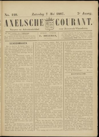 Axelsche Courant 1887-05-07
