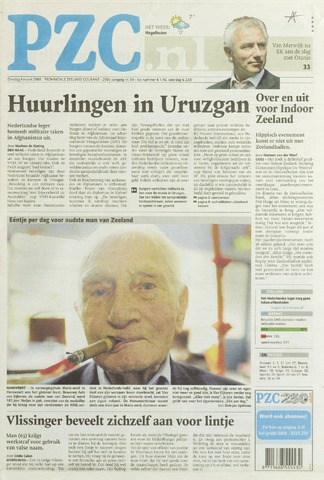 Provinciale Zeeuwse Courant 2008-03-04