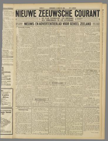 Nieuwe Zeeuwsche Courant 1934-08-16