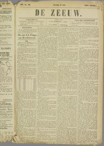 De Zeeuw. Christelijk-historisch nieuwsblad voor Zeeland 1891-06-16