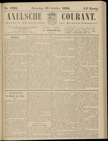 Axelsche Courant 1898-10-29