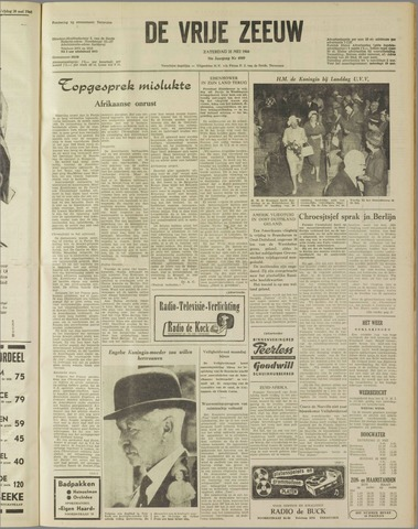 de Vrije Zeeuw 1960-05-21