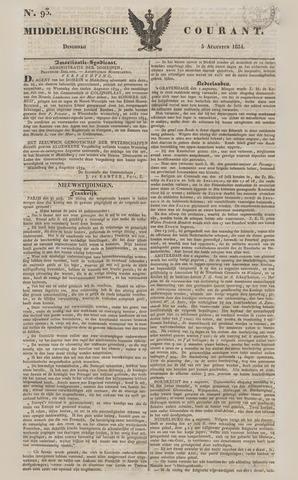 Middelburgsche Courant 1834-08-05