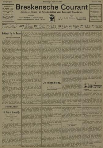 Breskensche Courant 1932-09-07