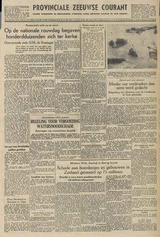 Provinciale Zeeuwse Courant 1953-02-09