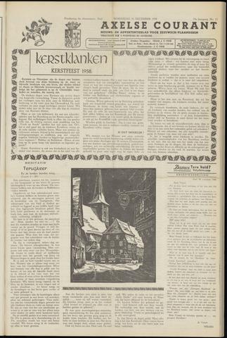 Axelsche Courant 1958-12-24