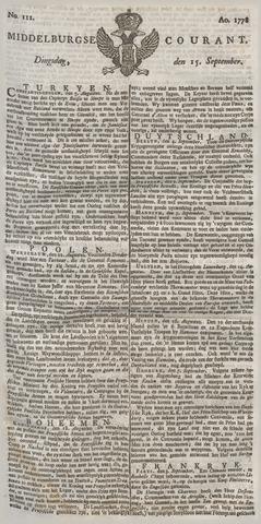Middelburgsche Courant 1778-09-15