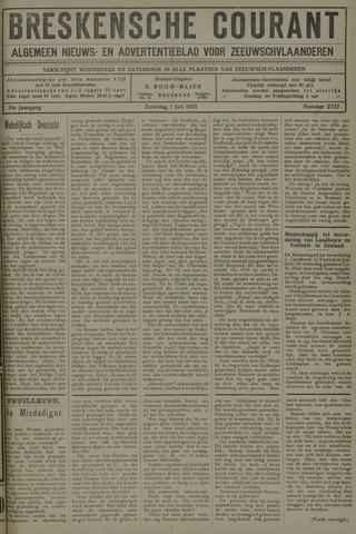 Breskensche Courant 1922-07-01