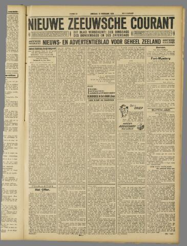 Nieuwe Zeeuwsche Courant 1929-02-19