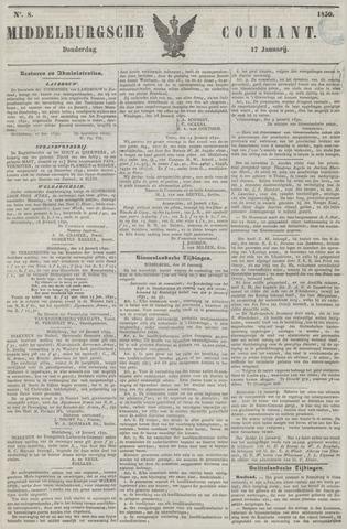 Middelburgsche Courant 1850-01-17