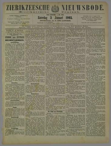 Zierikzeesche Nieuwsbode 1903-01-03
