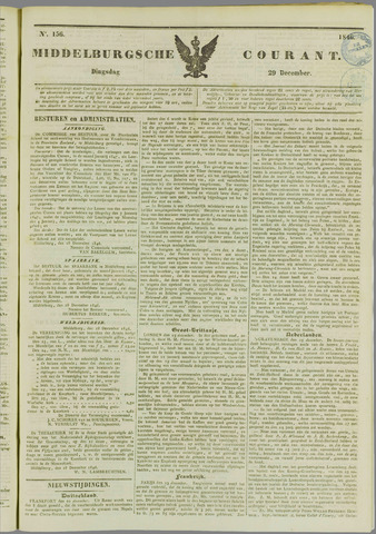 Middelburgsche Courant 1846-12-29