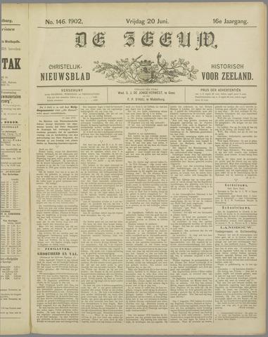 De Zeeuw. Christelijk-historisch nieuwsblad voor Zeeland 1902-06-20