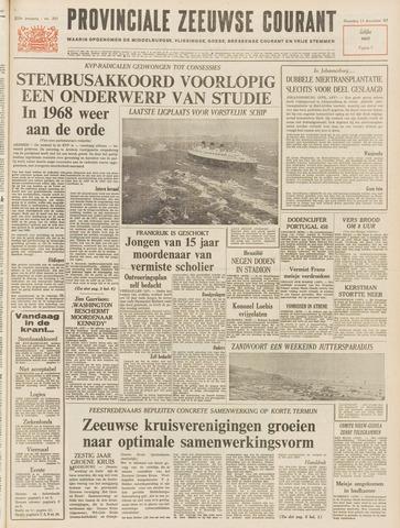 Provinciale Zeeuwse Courant 1967-12-11
