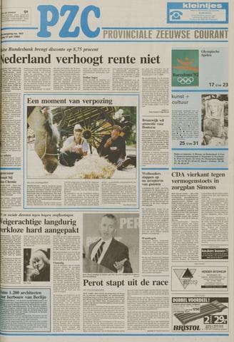 Provinciale Zeeuwse Courant 1992-07-17