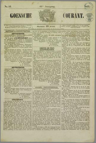 Goessche Courant 1855-07-23