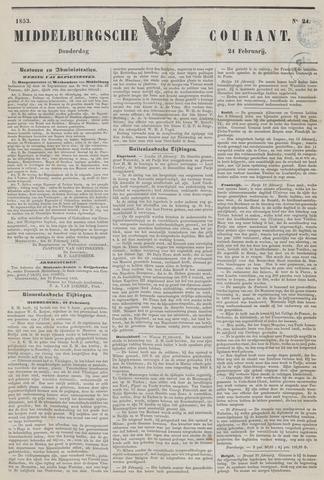 Middelburgsche Courant 1853-02-24