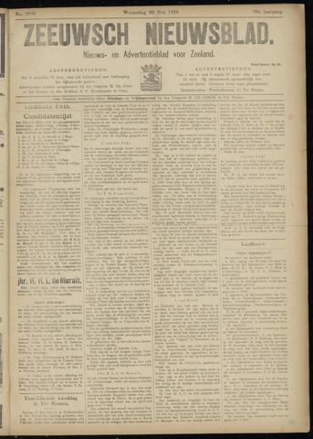 Ter Neuzensch Volksblad. Vrijzinnig nieuws- en advertentieblad voor Zeeuwsch- Vlaanderen / Zeeuwsch Nieuwsblad. Nieuws- en advertentieblad voor Zeeland 1918-05-29