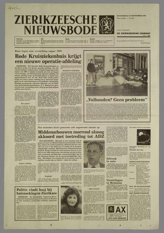 Zierikzeesche Nieuwsbode 1988-09-29