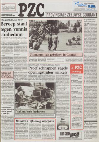 Provinciale Zeeuwse Courant 1988-08-20