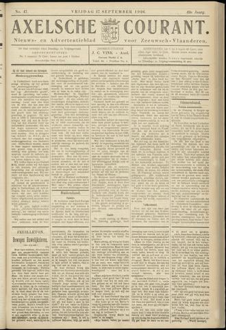 Axelsche Courant 1926-09-17