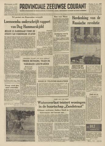 Provinciale Zeeuwse Courant 1960-11-08