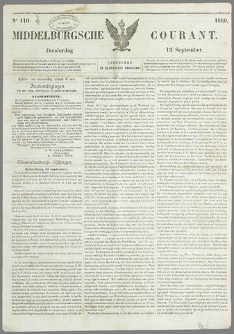 Middelburgsche Courant 1860-09-13