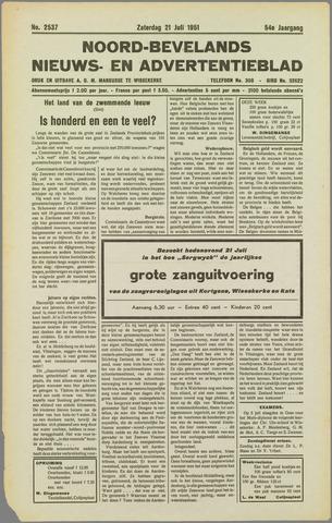 Noord-Bevelands Nieuws- en advertentieblad 1951-07-21