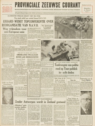 Provinciale Zeeuwse Courant 1964-07-13