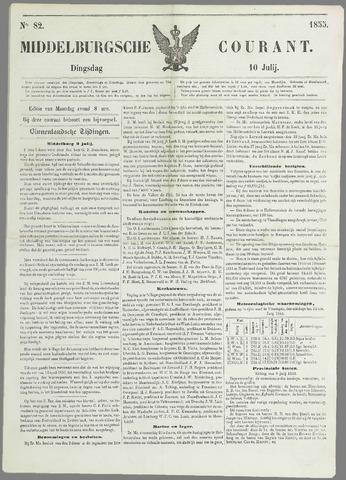 Middelburgsche Courant 1855-07-10