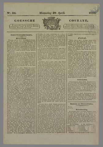 Goessche Courant 1845-04-28